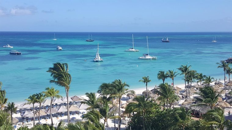 Beach View from Hyatt Regency, Palm Beach, Aruba photo taken by Travel & Events Extraordinaire